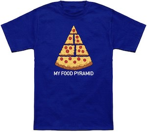 My Food Pyramid T-Shirt