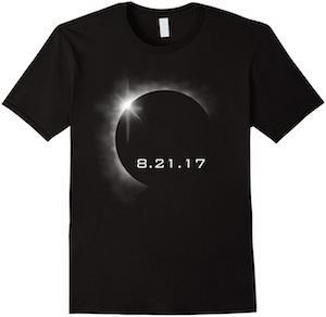 the 2017 solar eclipse t-shirt