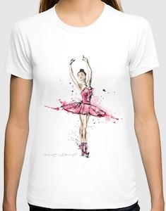 Dancing Ballerina T-Shirt