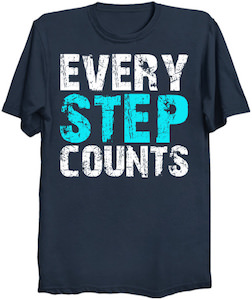 Every Step Counts T-Shirt