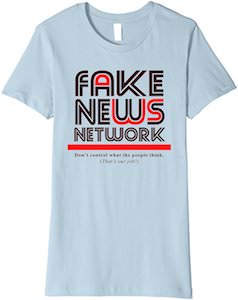 Fake News Network Logo T-Shirt