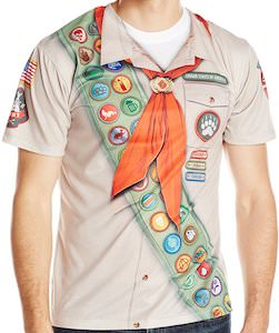 Men's Boy Scout Costume T-Shirt