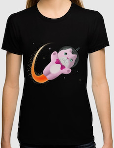 Captain Space Cat T-Shirt