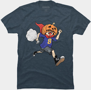 Running Halloween Candy Thief T-Shirt