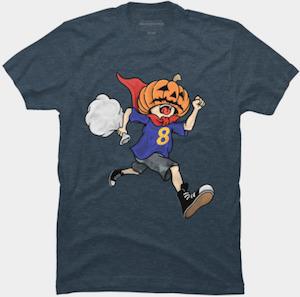 Running Halloween Candy Thief T-Shirt