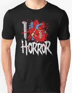 I Heart Horror T-Shirt