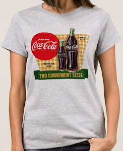 Coca Cola Two Sizes T-Shirt