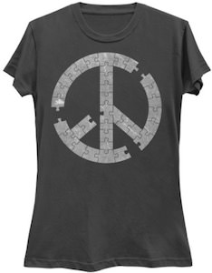 Jigsaw Peace Puzzle T-Shirt