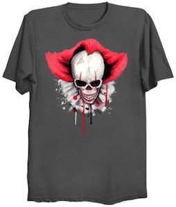 Clown Skull T-Shirt