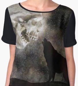 Howling At A Skull T-Shirt