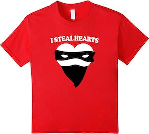 I Steal Hearts T-Shirt