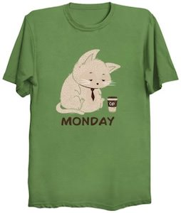 Monday Cat T-Shirt