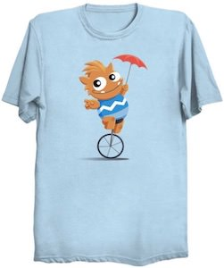 Monster On A Unicycle T-Shirt