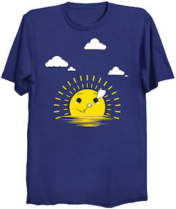 Sun Making Clouds T-Shirt