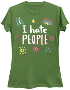 Fun I Hate People T-Shirt