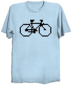 Pixel Bicycle T-Shirt