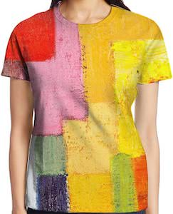 Patches Of Color T-Shirt
