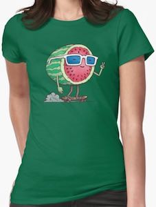 Skating Watermelon t-shirt