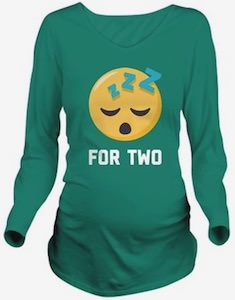 Sleeping For Two Maternity T-Shirt