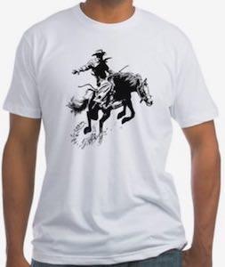 Bronc Riding T-Shirt
