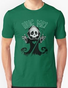 Hug The Grim Reaper T-Shirt
