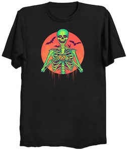 Halloween Skeleton T-Shirt