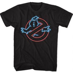 Neon Ghostbusters Logo T-Shirt