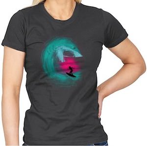 Shark Wave Attack T-Shirt