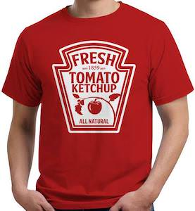 Tomato Ketchup Costume T-Shirt
