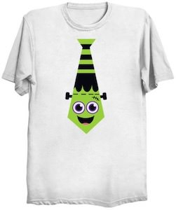 Frankenstein Tie Costume T-Shirt