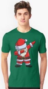 Santa Claus Dabbing T-Shirt