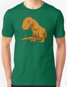 T-Rex Can't Skip T-Shirt