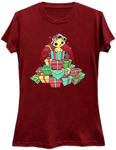 Cat And Presents T-Shirt