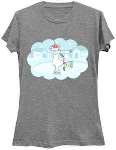 Skating Unicorn T-Shirt