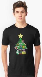Super Mario Mushroom Tree T-Shirt