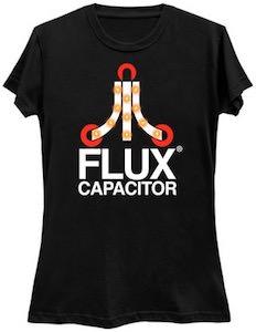 Atari Logo Flux Capacitor T-Shirt