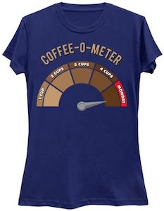 Coffee O Meter T-Shirt
