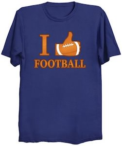 I Like Football T-Shirt