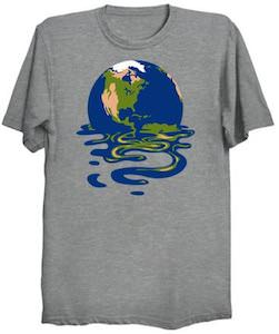 Melting Earth T-Shirt