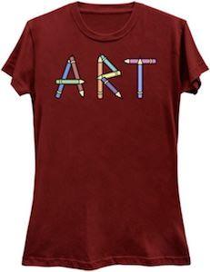 Pencil Art T-Shirt