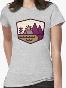 Camping In Nature T-Shirt
