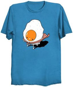 Superhero Breakfast T-Shirt