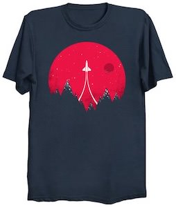 Flying To The Stars T-Shirt