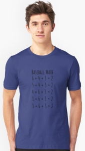 Baseball Math T-Shirt