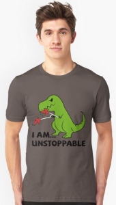 T Rex Unstoppable T-Shirt