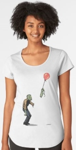 Zombie Red Balloon T-Shirt
