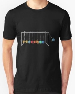 Pluto Out Balance Ball T-Shirt