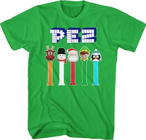 PEZ Christmas T-Shirt