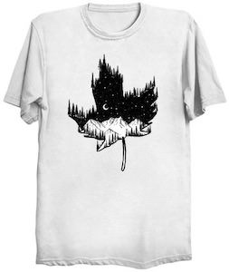 Maple Leaf Mountains T-Shirt
