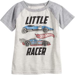 How Wheels Little Racer T-Shirt